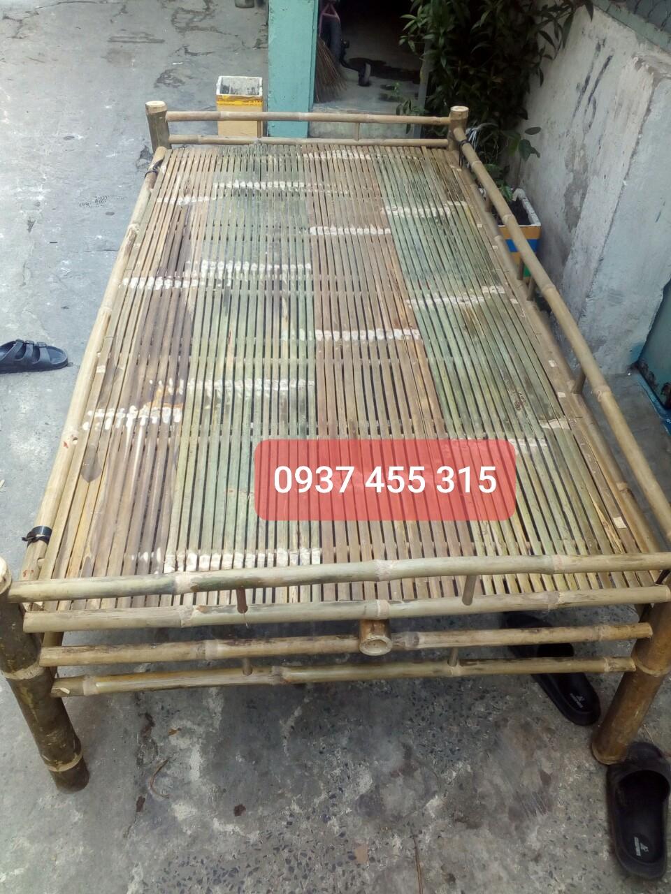 Giường Tre Quê Hương 202